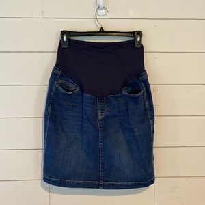 Old Navy Denim Skirt - MATERNITY